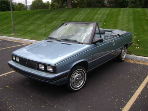 1985 renault alliance convertible image gallery convertible renault 1985