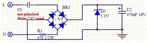 calculate capacitor power supply calculating capacitor current in transformerless 28 images transformerless power supply