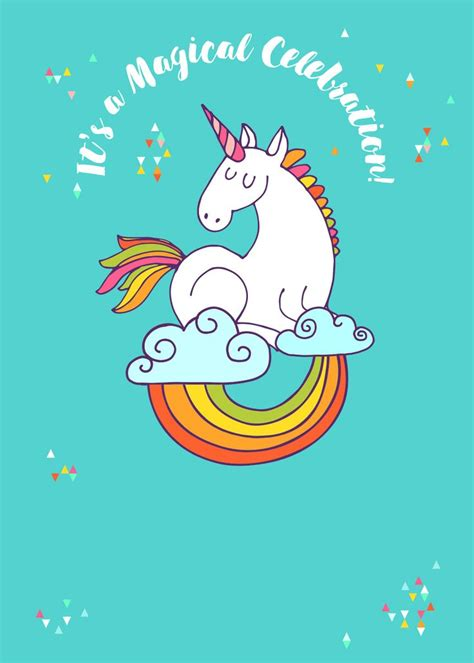 printable birthday cards unicorn 43 best free unicorn party printables images on pinterest