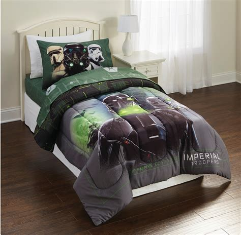 starwars bedding star wars rogue 1 imperial force twin comforter home
