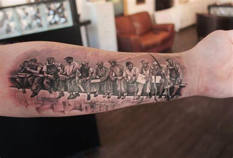 ironworker tattoos dan walczak dan
