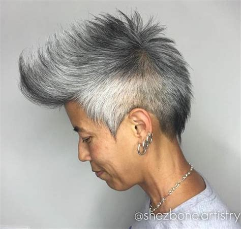 salt and pepper hair styles for women salt and pepper hair styles for asian 25 creative short