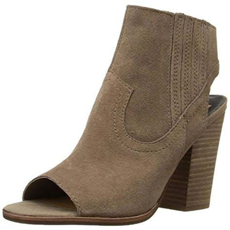 booties shoes dolce vita 5954 womens pasha suede open toe booties ankle