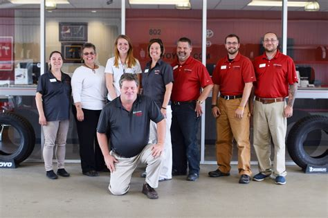 Team Toyota Service Meet The 802 Toyota Service Family 802cars