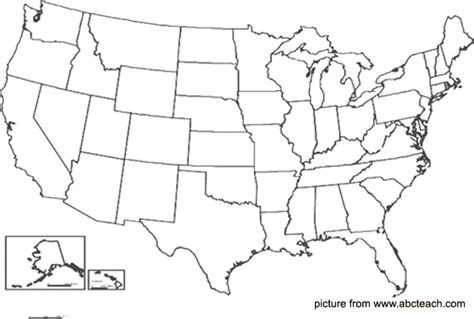 us map outline states blank geography outline maps united states