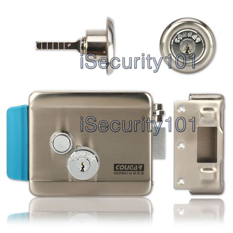 electric door isecurity101 dc 12v electric release door lock no mode 4 door phone
