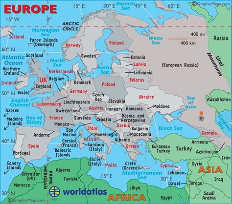 europa map large map of europe easy to read and printable