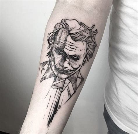 30 mind blowing joker tattoo designs that every fan must have