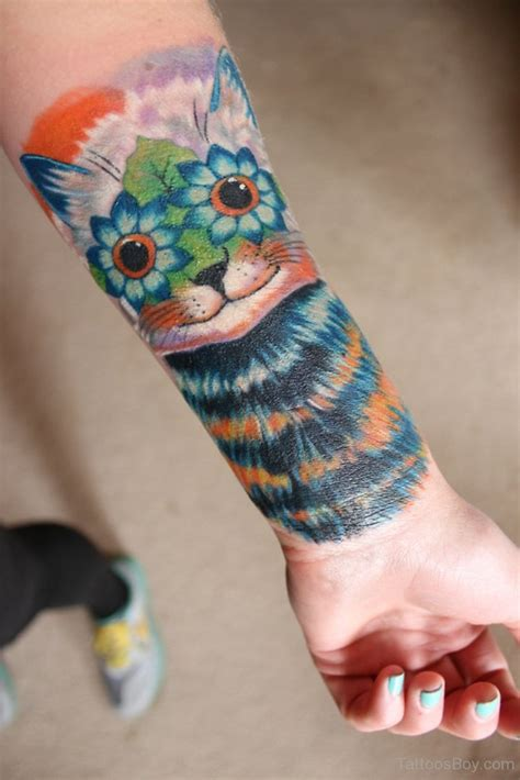 cat wrist tattoo cat tattoos designs pictures page 3