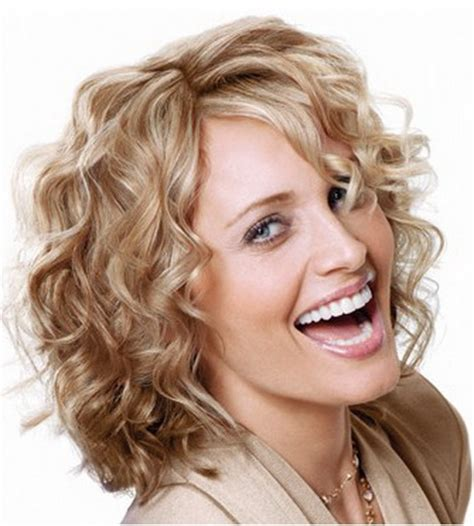 permed hairstyles for square fasce easy short curly hairstyles