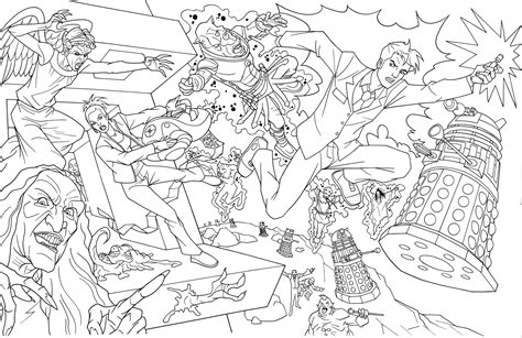 Tardis Doctor Who Coloring Pages Coloring Pages Doctor Who Coloring Page