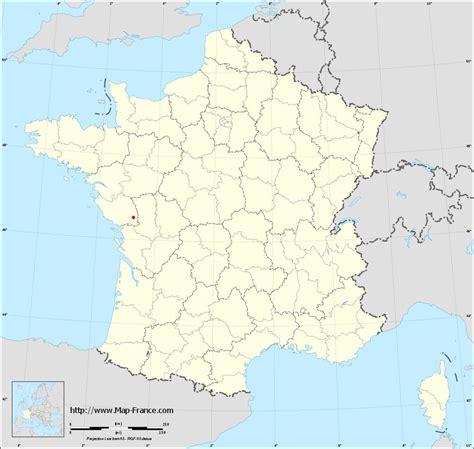 ROAD MAP MERVENT : maps of Mervent 85200