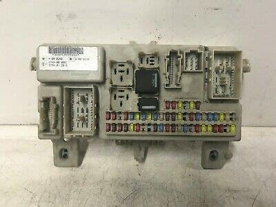 ford focus body control module bcm internal fuse box