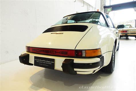 porsche targa white 1982 porsche 911 sc targa classic throttle shop