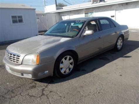 cadillac dts 2000 for sale find used 2000 cadillac dts no reserve in anaheim