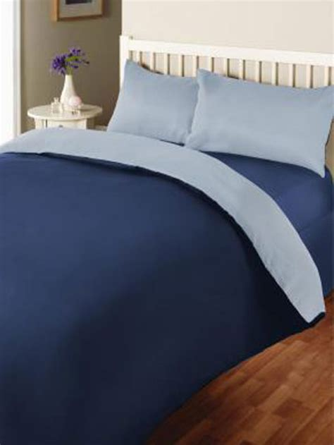 light blue double duvet cover reversible blue and light blue double duvet cover
