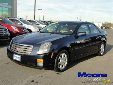 2004 cadillac cts sedan 2004 blue chip cadillac cts sedan 24693439 gtcarlot