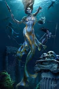 mermaid hunt by tom wood featured artist on the