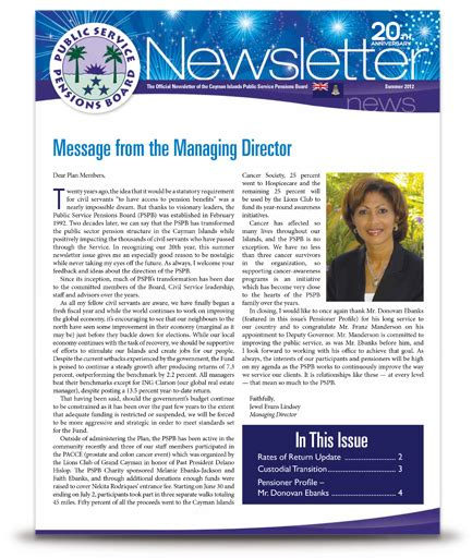 Newsletter Service Service Pensions Board Newsletter 911media