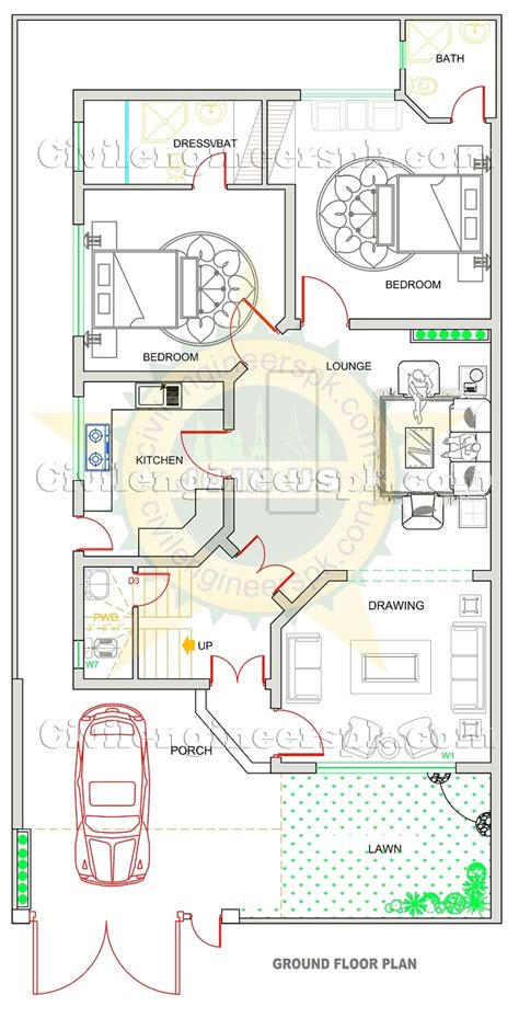 house map design house maps designs in pakistan 5 marla house design
