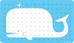 no suction cup bath mat kikkerland whale rubber high grip suction cup bath