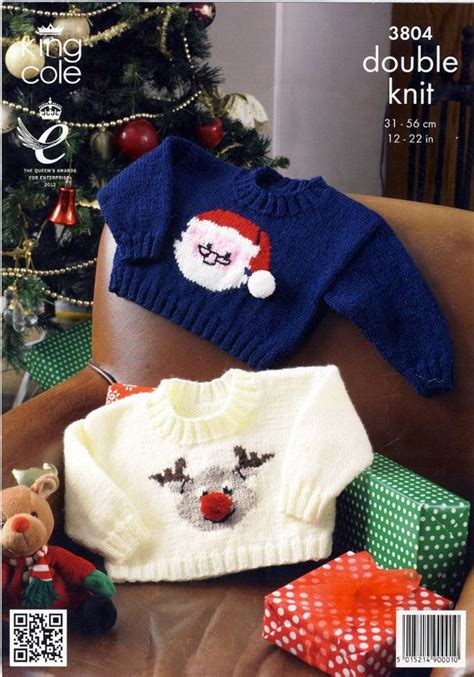 knitting pattern reindeer christmas jumper christmas jumpers knitting pattern for babies king cole