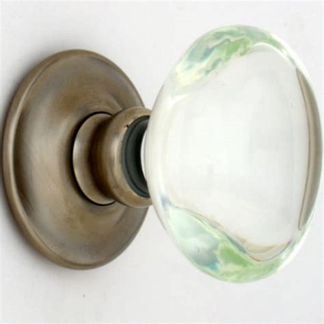 Clear Oval Glass Door Knobs Mortice Or Rim Door Handles Glass Interior Door Knobs
