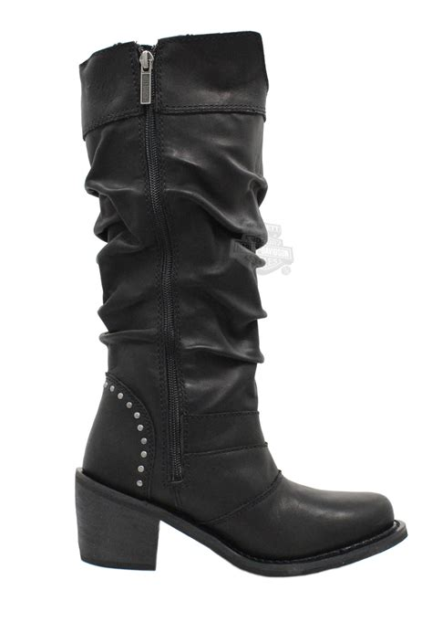 harley davidson womans boots 83562 harley davidson 174 womens black leather high