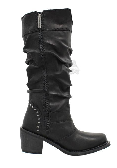 womens harley davidson boots 83562 harley davidson 174 womens black leather high