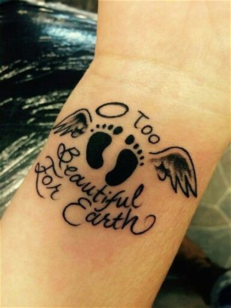 wrist memorial tattoos 25 best ideas about baby memorial tattoos on