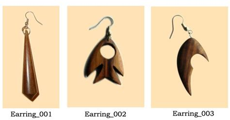 Padil Earrings Earrings Anting Anting Tusuk Earrings Tusuk accessories bali wood earring anting kayu