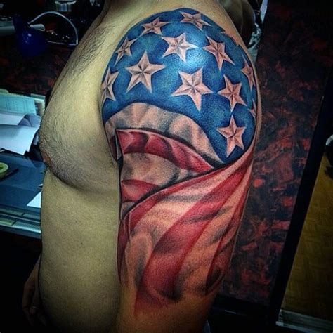 patriotic sleeve tattoos 90 patriotic tattoos for nationalistic pride design