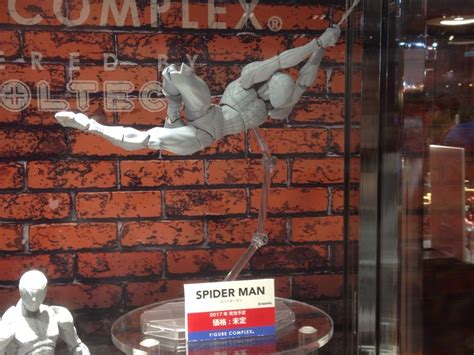 swinging wonder revoltech spider man deadpool figure updated photos