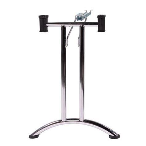 gambe pieghevoli per tavoli set gambe per tavolo pieghevole tg2 cromato 2pz