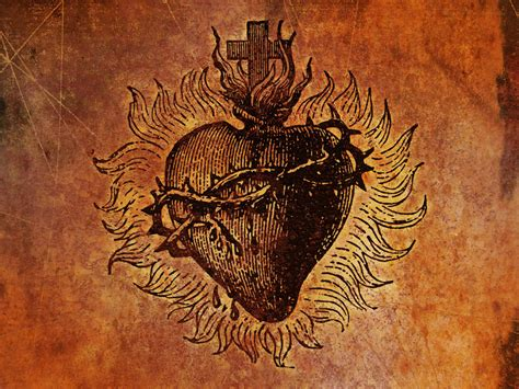 tattooed heart download free sacred heart wallpaper download the free sacred