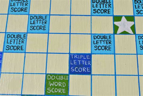 number of squares on a scrabble board big scrabble board tutorial