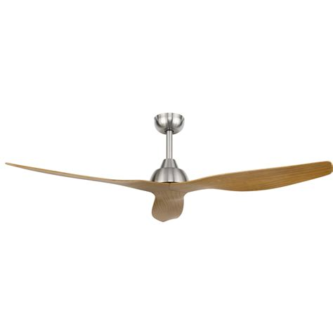 Bunnings Ceiling Fans With Lights Brilliant Lighting 132cm Satin Nickel Ceiling Fan Bunnings Pundaluoyatmv
