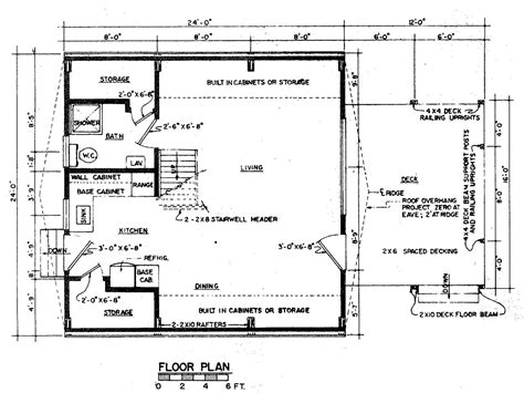 A Frame Floor Plans | free a frame house plan with deck