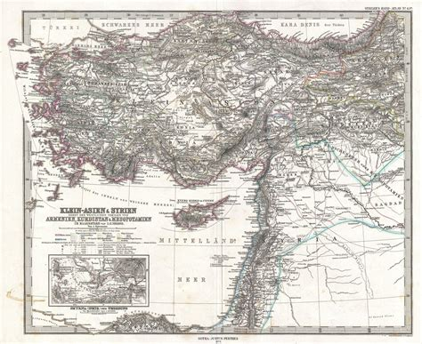 map of modern asia file 1873 stieler map of asia minor syria and israel
