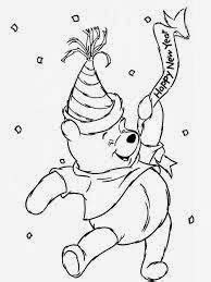 6 pooh bear christmas coloring pages