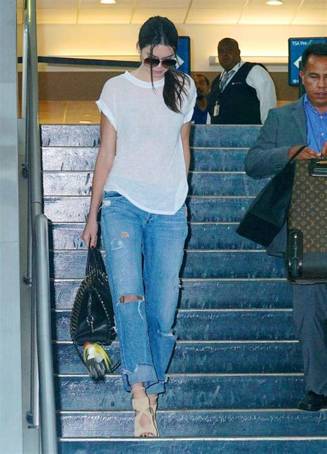 Lands In Los Angeles by Kendall Jenner Photos Kendall Jenner Lands In Los