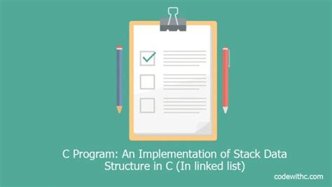 online tutorial data structure using c data structures algorithms stack tutorialspoint 1991