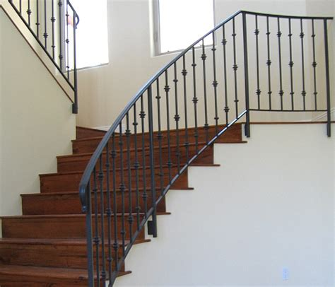 Stair Banisters Railings by Wrought Iron Stair Railing Newsonair Org
