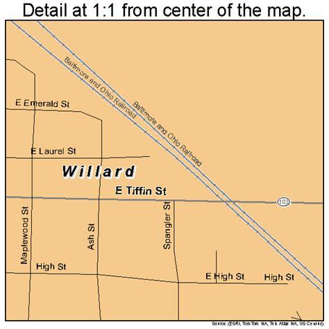 willard ohio map willard ohio map 3985232