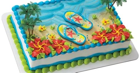"Philadelphia - 10th & Reed - ""Flip Flops Beach Sheet Cake ... Luau Food Ideas For Party"