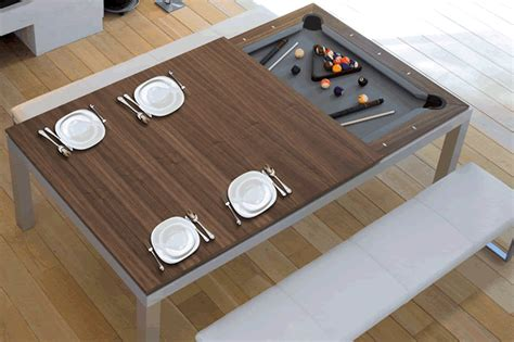 how to make a pool table dining top convertible pool tables make entertaining the