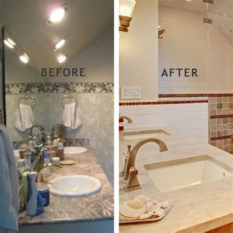 Bathroom Remodel Small Space Ideas by Modern Rustic Master Bath Design And Remodel In Summit Nj