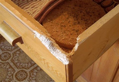 How To Fix Kitchen Drawer Front by Repairing A Drawer Front