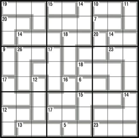 printable killer sudoku easy printable sudoku