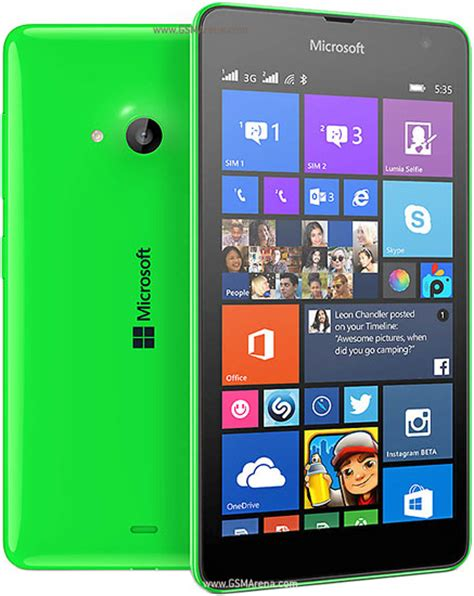 Hp Nokia Lumia 535 Single Sim Microsoft Lumia 535 Dual Sim Pictures Official Photos